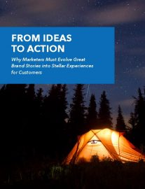 Download our latest whitepaper - From Ideas to Action: Why Marketers Must Evolve Great Brand Stories into Stellar Experiences for Customers.