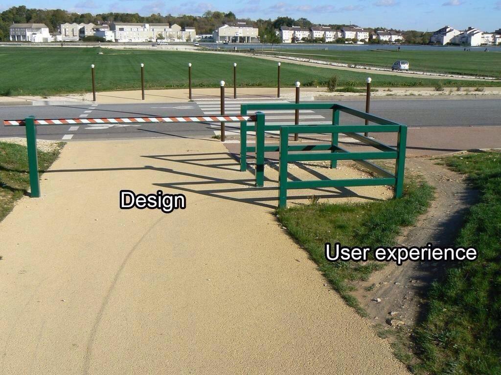 Design-vs-user-experience